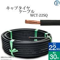 溶接用キャプタイヤ(キャブタイヤケーブル)WCT22SQ30m【あす楽】