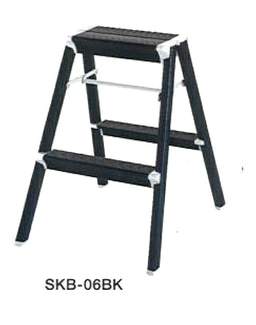 ☆【送料無料】【代引き不可】ハセガワ スキットステップ 踏み台 SKB-06BK (ブラック) 【16529】【RCP】