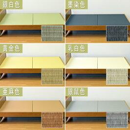 [送料無料]ベッド用取り換え畳ダブルサイズ(畳2枚1セット)[爽やか畳/国産和紙畳表/目積織り/縁なし畳][日本製][畳ベッドダブル][ベッド用畳]※フレームは含みません