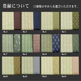 [送料無料]ベッド用取り換え畳[古畳引取セット]セミダブルサイズ(2枚1セット)[中国産い草畳表/炭入りカーボンシート/縁付き畳][日本製][畳セミダブル]※フレームは含みません