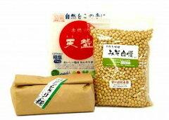 安心・安全な特別栽培材料!新潟県産特別栽培こしひかり使用糀、北海道産特別栽培大豆とよまさ...