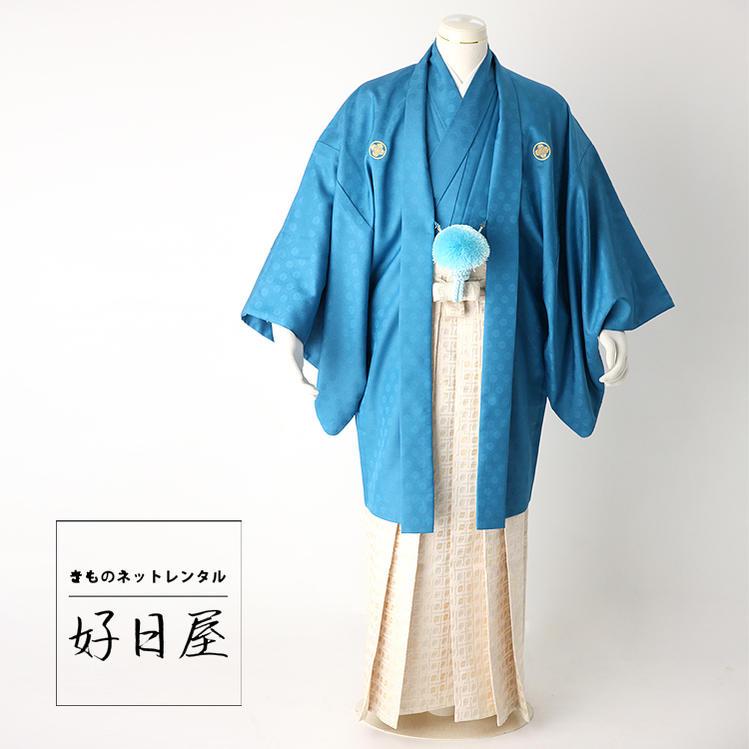 卒業式 袴 レンタル 男 着物 結婚式 着物 成人式 男性 紋付袴 dh-017