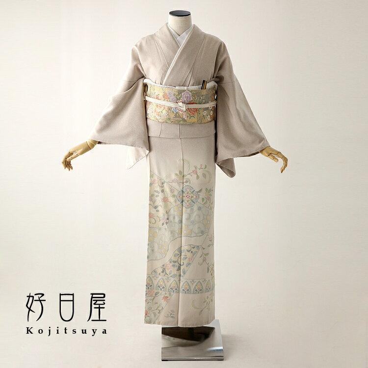 色留袖 レンタル フルセット 正絹 着物 結婚式 身長153-170cm 三つ紋 it-050