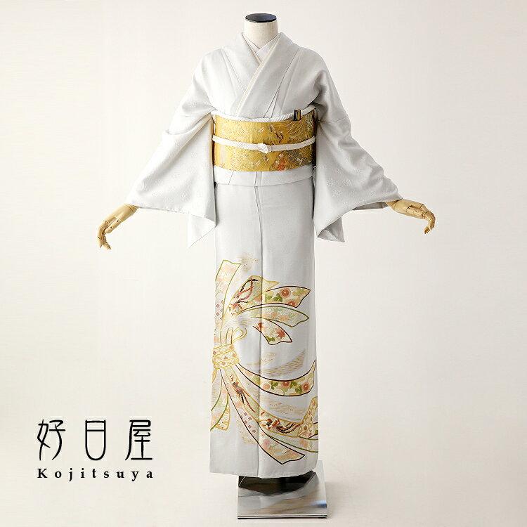色留袖 レンタル フルセット 正絹 着物 結婚式 身長153-170cm 三つ紋 it-061