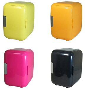 冷温庫 保冷温庫 温冷庫 冷蔵庫 4L 車載可 小型 4色からご選択 【送料無料】