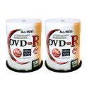 DVD-R 100枚×2=200枚セット データ用 ALL WA...