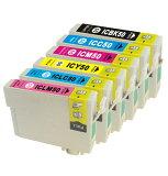 エプソン インク インクカートリッジ 互換インク プリンターインク IC6CL50 6色 【メール便送料無料】
