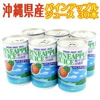 【送料込】パインアップルジュース160g×30本