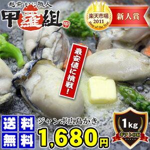 ジャンボ広島かき1kg