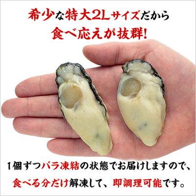 大粒な牡蠣