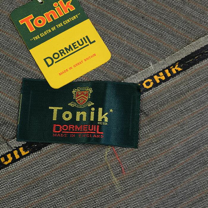 ヴィンテージ/Dormeuil/ドーメル/Tonik/トニック/スーツ用生地/ブラウン系/2.8m/NO.71:kousei