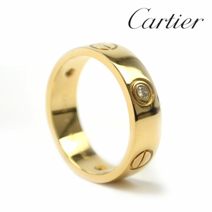 レディースジュエリー・アクセサリー, 指輪・リング Cartier 3P 13.5 K18YG c-2005