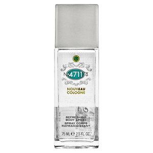 4711 フォーセブンイレブン ヌーヴォ コロン ボディスプレー 75ml 【香水】【あす楽休止中】【割引クーポンあり】
