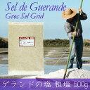 ゲランドの塩≪粗塩≫500g