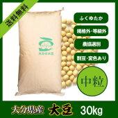 大分県産大豆《中粒》30kg
