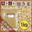 【メール便で送料無料】焼き米 1kg〔チャック付〕【発芽玄米】