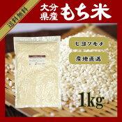 大分県産もち米1kg/ヒヨクモチ