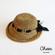 【メール便送料無料】【Cheer】2wayアンダリカールプリーマリボンHATハット帽子
