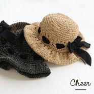 【ゆうパケット送料無料】【Cheer】アンダリカールプリーマリボンHATハット帽子