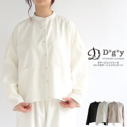 【送料無料】バンドカラーシャツジャケットMLD*g*ydgyデコカンパニー