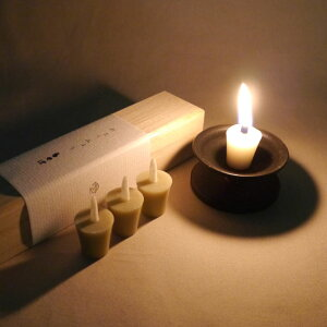 ■おとうみょう【ちゃぼ】桐箱約2cmの小さな和ろうそく|【ロウソク】【ローソク】【蝋燭】