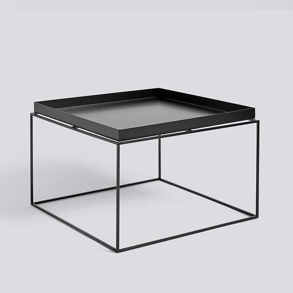 HAY (ヘイ) TRAY TABLE Coffee square サイドテーブル/コーヒーテーブル ブラック 北欧家具 【受注発注の為キャンセル/返品不可】【大型送料】