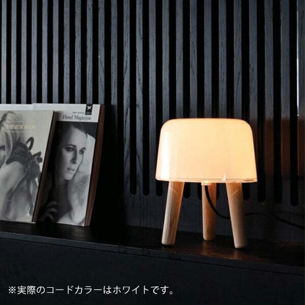 &tradition (アンドトラディション) Milk(ミルク) テーブルランプ ホワイト/アッシュ 北欧/インテリア/照明 【大型送料】