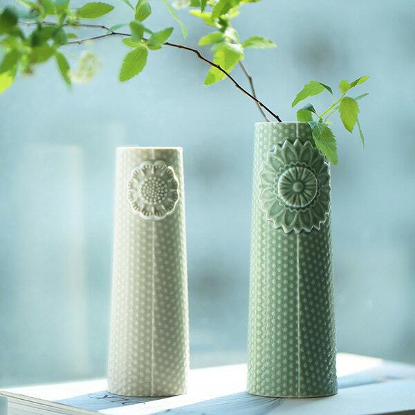dottir (ドティエ) Pipanella (ピパネラ) フラワーベース/ドット M セラドン 北欧/インテリア/花瓶/日本正規代理店品
