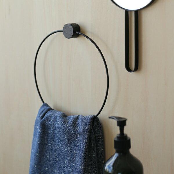ferm LIVING (ファームリビング) Towel Hanger (タオルハンガー) ブラック 北欧/インテリア/日本正規代理店品