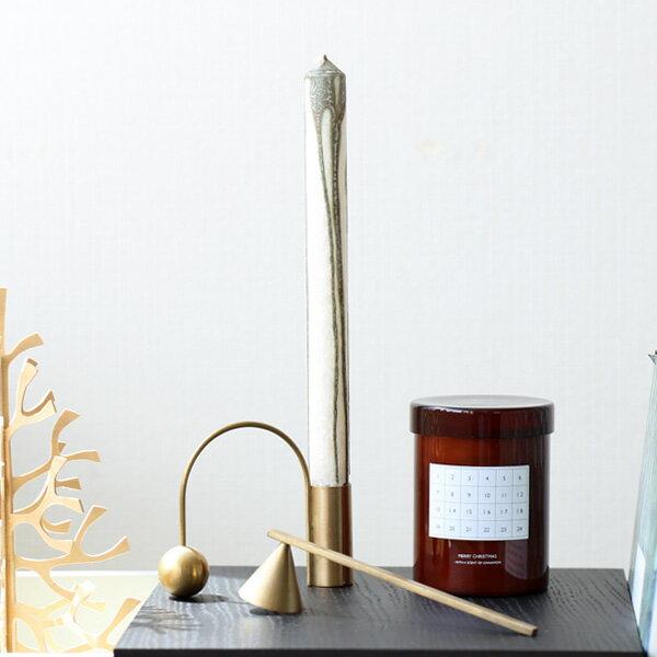 ferm LIVING (ファームリビング) Duo Candle(デュオキャンドル) 2本セット ワームグレー/ダークブルー/オリーブグリーン 北欧/インテリア/日本正規代理店品