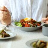 kura common (クラ コモン)Ena (エナ) リムプレート/ディープ/パスタプレート 21cm クールグレー/マット 和洋食器/食器/皿