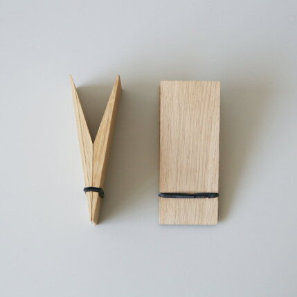 MOEBE(ムーベ)PINCHピンチ(オーク)クリップ/壁掛け(1個)