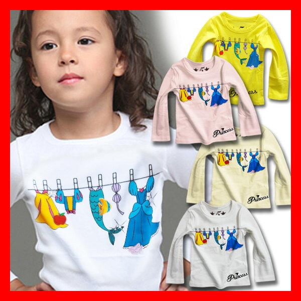 3e7517c8c6508 韓国 子供服 ワンピース Tシャツ Ossi オッシー ランドリープリンセスキッズ 長袖 …