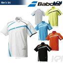 『即日出荷』 Babolat(バボラ)「Unisex ジップアップゲームシャツ BAB-1615」テニスウェア「2016SS」「あす楽対応」