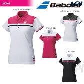 『即日出荷』 Babolat(バボラ)「Women's レディース ショートスリーブシャツ BAB-1693W」テニスウェア「2016FW」 「あす楽対応」