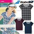 『即日出荷』「2017新製品」Babolat(バボラ)「Women's レディース ショートスリーブシャツ BAB-1738W」テニスウェア「2017SS」「あす楽対応」【kpi_p】【kpi_d】
