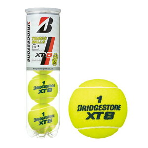 テニスボール    【ポイント10倍】BRIDGESTONE(ブリヂストン)XT8(エックスティエイト)[4...