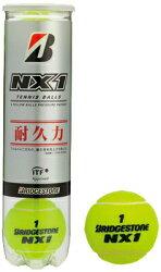 『即日出荷』BRIDGESTONE(ブリヂストン)NX1(エヌエックスワン)(4球入)1箱=15缶〔60球〕テニスボール【あす楽対応】