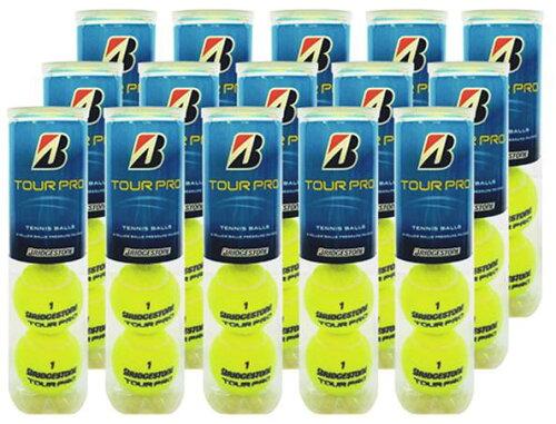 『即日出荷』BRIDGESTONE(ブリヂストン)TOUR PRO(ツアープロ)1箱(15缶/60球)テニスボール【s...