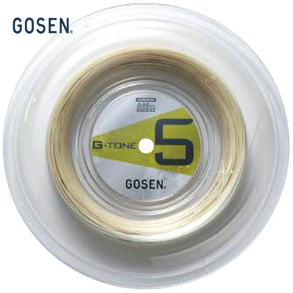 GOSEN(ゴーセン)「G-TONE 5(ジートーンファイブ)200mロール BS0652」バドミントンストリング(ガット)【KPI】【kpi_d】