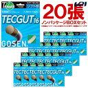 「ノンパッケージ・20張セット」GOSEN(ゴーセン)「テックガット16 ボックス」TS600W20P 硬式テニスス...