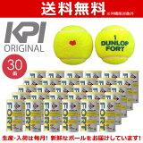 『全品10%OFFクーポン対象』「あす楽対応」「KPIオリジナルモデル」DUNLOP(ダンロップ)「FORT(フォート)[2個入]1箱(30缶/60球)」テニスボール 『即日出荷』