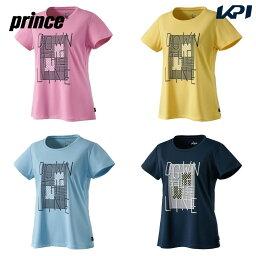 【全品10%OFFクーポン〜9/26】プリンス Prince テニスウェア レディース Tシャツ WS1077 2021SS