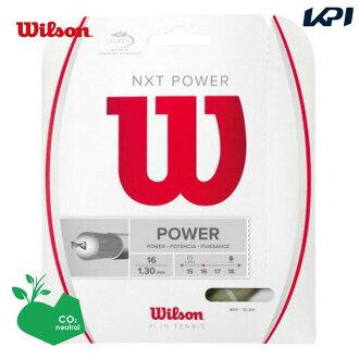 「 윌슨 페어 」 Wilson (윌슨) 「 NXT POWER 16 WRZ941600 」 경식 테니스 스트링 「 운영 」