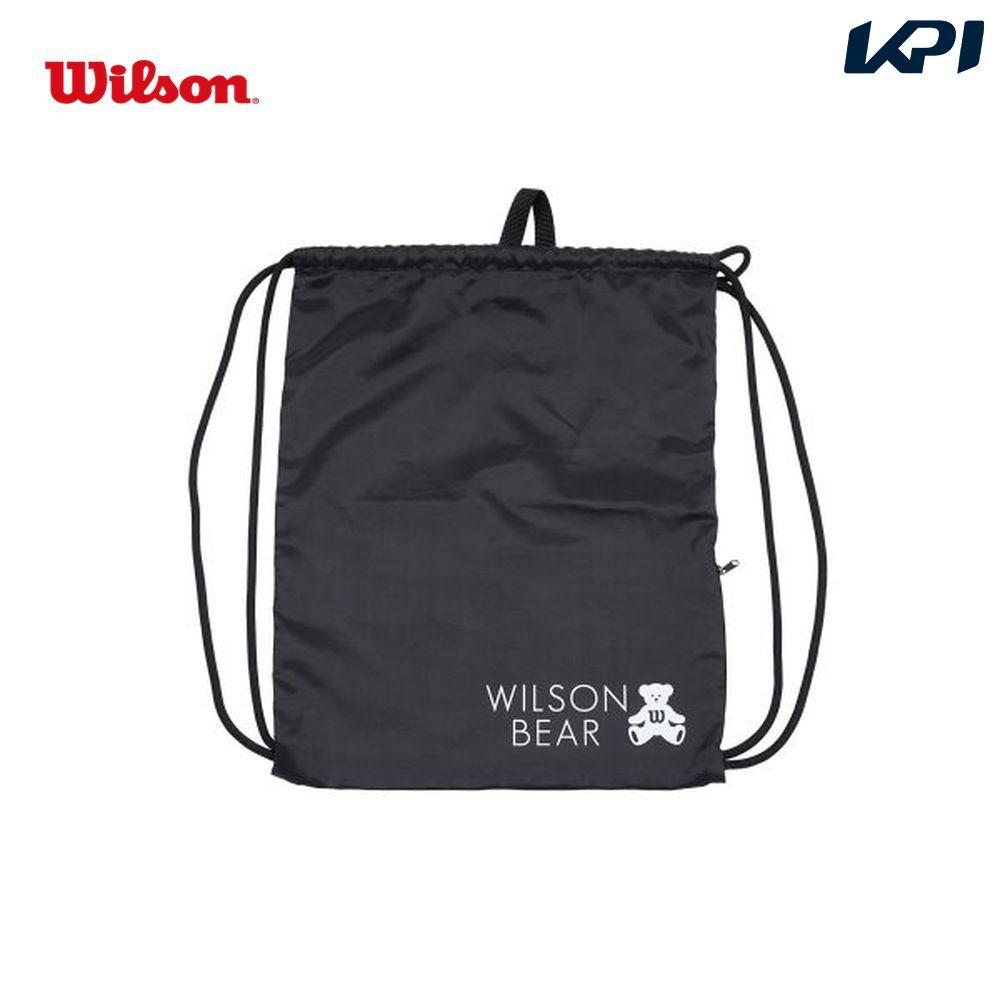 ウイルソン Wilson テニスバッグ・バドミントンバッグ・ケース ONE BEAR CINCH BAG BLACK ナップサック WR8008501001