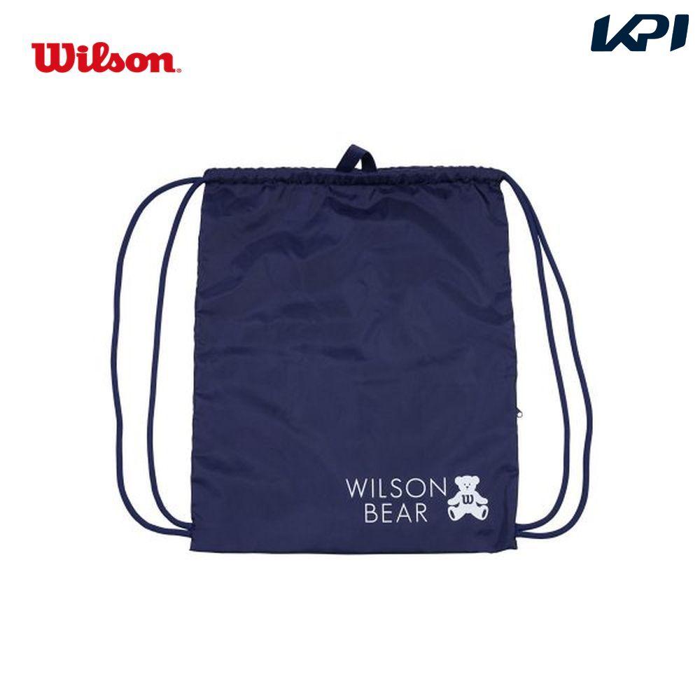 ウイルソン Wilson テニスバッグ・バドミントンバッグ・ケース ONE BEAR CINCH BAG NAVY ナップサック WR8008502001