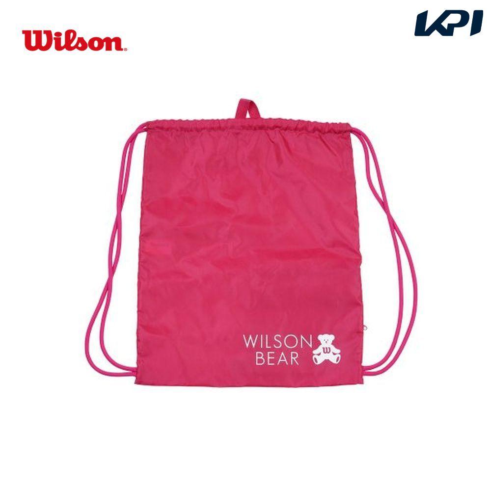 ウイルソン Wilson テニスバッグ・バドミントンバッグ・ケース ONE BEAR CINCH BAG PINK ナップサック WR8008503001