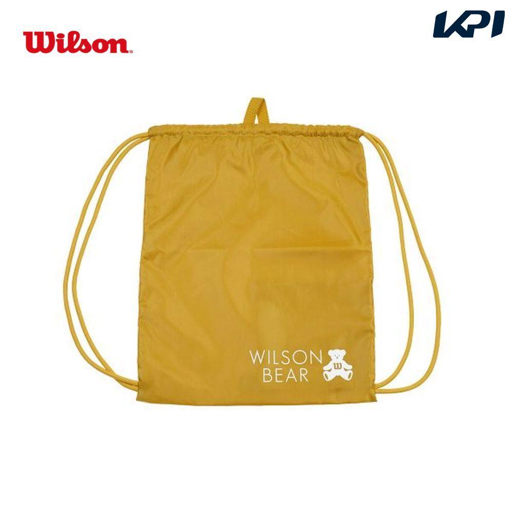ウイルソン Wilson テニスバッグ・バドミントンバッグ・ケース ONE BEAR CINCH BAG YELLOW ナップサック WR8008504001