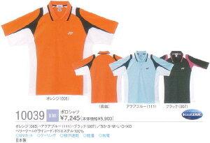 【送料無料】YONEX(ヨネックス)Uni ポロシャツ 10039 ソフトテニス&バドミントンウェア【sm...