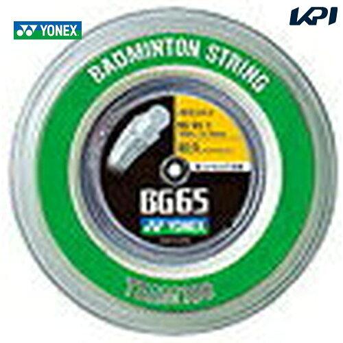 YONEX(ヨネックス)「ミクロン65(MICRON 65)[100mロール]BG65-1」バドミントンストリング(ガッ...